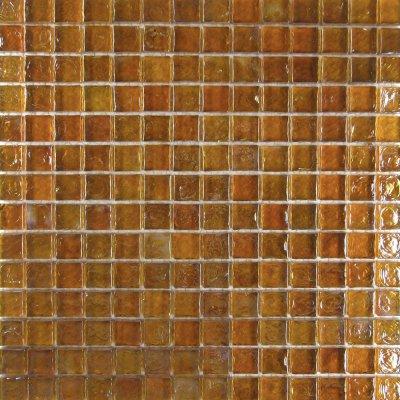 Zeugma Opalescence IC 16 Glass Mosaic Tile Brown Tan Outdoor Indoor Wall Backsplash Tub Shower Vanity QDIsurfaces
