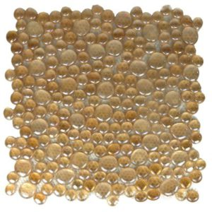 Zeugma Rain Drops QQ DX05 Glass Mosaic Tile Brown Tan Beige Cream Outdoor Indoor Wall Backsplash Tub Shower Vanity QDIsurfaces