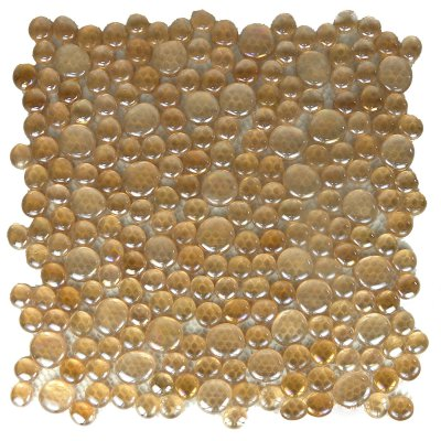 Zeugma Rain Drops QQ DX05 Glass Mosaic Tile Brown Tan Beige Cream Outdoor Indoor Wall Backsplash Tub Shower Vanity QDIsurfaces