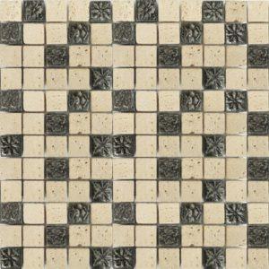 45c62347a65c ... Zeugma TC 009 Glass Mosaic Tile 12x12 Gray Beige Cream Black Outdoor  Indoor Wall Backsplash Tub
