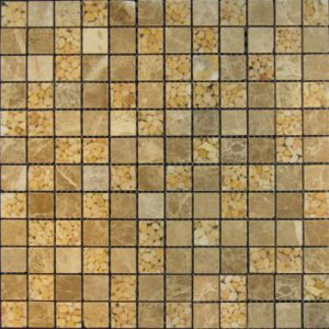 Zeugma Vedere BN02 809P Glass Mosaic Tile 12x12 Beige Cream Brown Tan Outdoor Indoor Wall Backsplash Tub Shower Vanity QDI