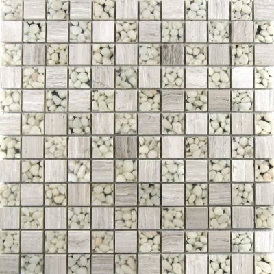 Zeugma Vedere BN03 Q 812P Glass Mosaic Tile Beige Cream Gray White Outdoor Indoor Wall Backsplash Tub Shower Vanity QDIsurfaces