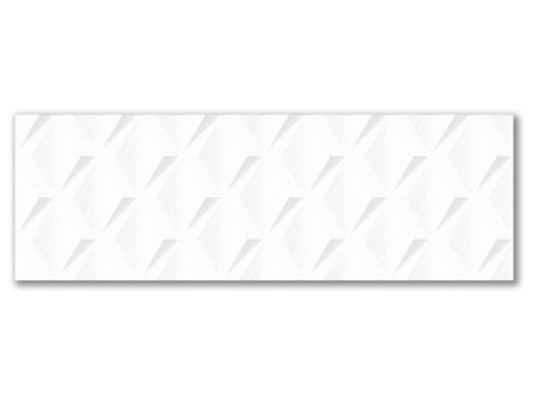 """STAGE DELTA 12""""x36"""" Glazed Rectified White Bodied Ceramic Wall Tile"""