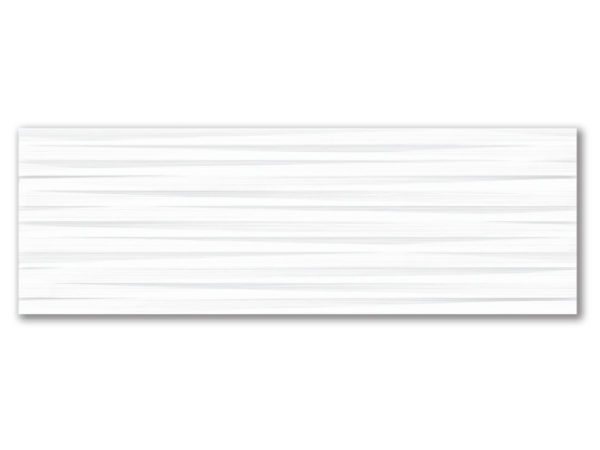 """STAGE EXPRESSION 12""""x36"""" Glazed Rectified White Bodied Ceramic Wall Tile"""
