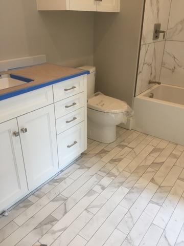 Place Polished Glazed Rectified Porcelain Floor & Wall Tile
