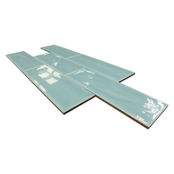 4 ARIA Aquamarine 4x12 ceramic wall tile QDI Surfaces product angle 800x800 1