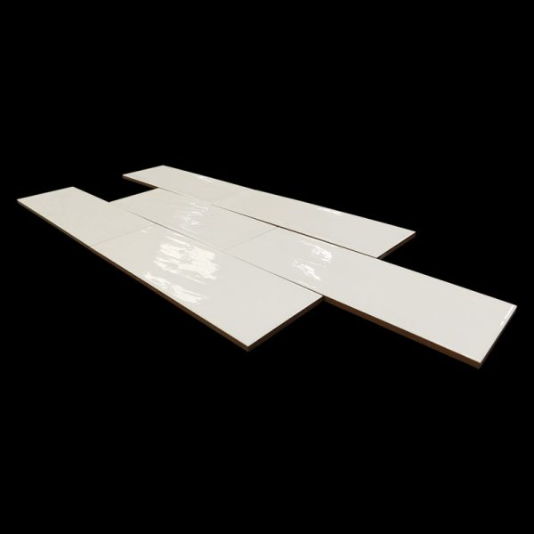 4 ARIA Crema 4x12 ceramic wall tile QDI Surfaces product angle 800x800 1
