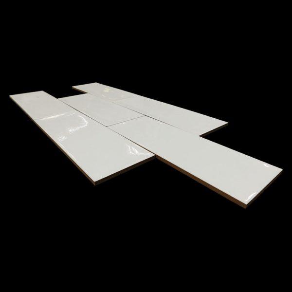 4 ARIA White 4x12 ceramic wall tile QDI Surfaces product angle 800x800 1