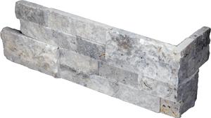 QDI Silver 2-Size Splitface Corner