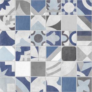 """Bouquet Caribe 2""""x2"""" Mosaic Tile"""
