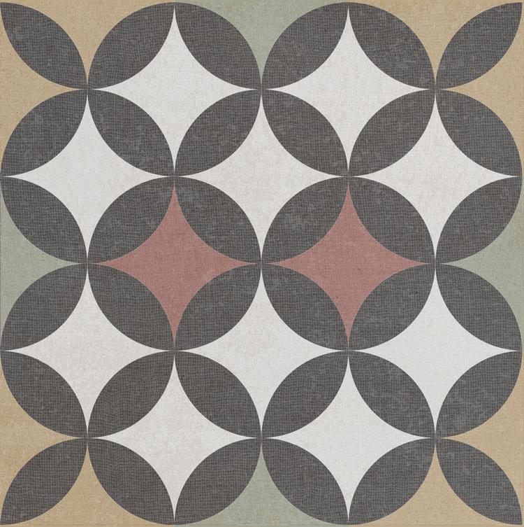 Bouquet Cuadrado Criollo 925x925 Porcelain Floor Wall Tile