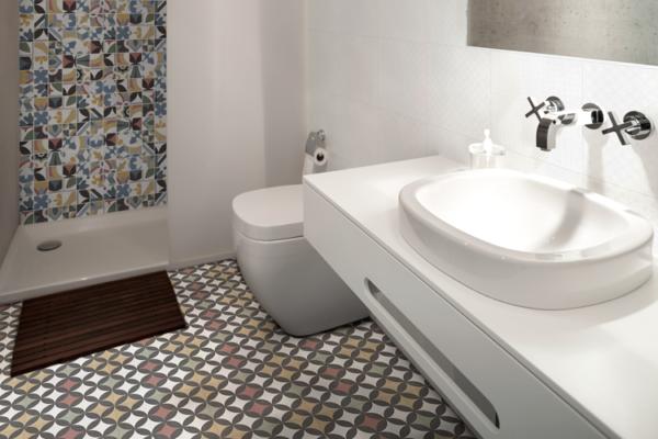 """Bouquet Criollo 2""""x2"""" Mosaic Tile & Single Piece Pattern"""