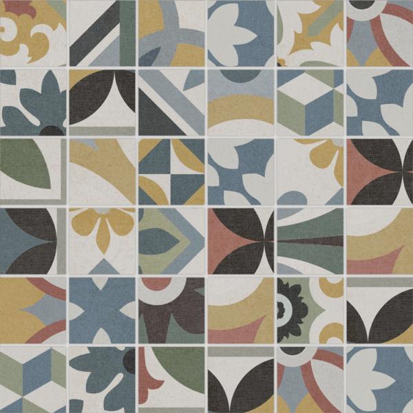 """Bouquet Criollo 2""""x2"""" Mosaic Tile"""