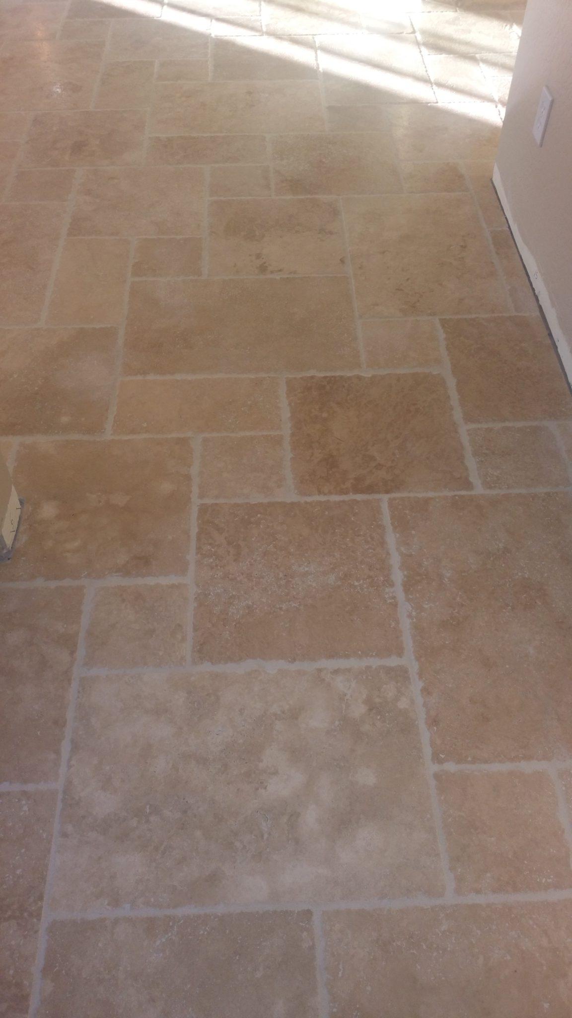 Travertine Marble Tile : Ivory beige travertine tile qdi surfaces
