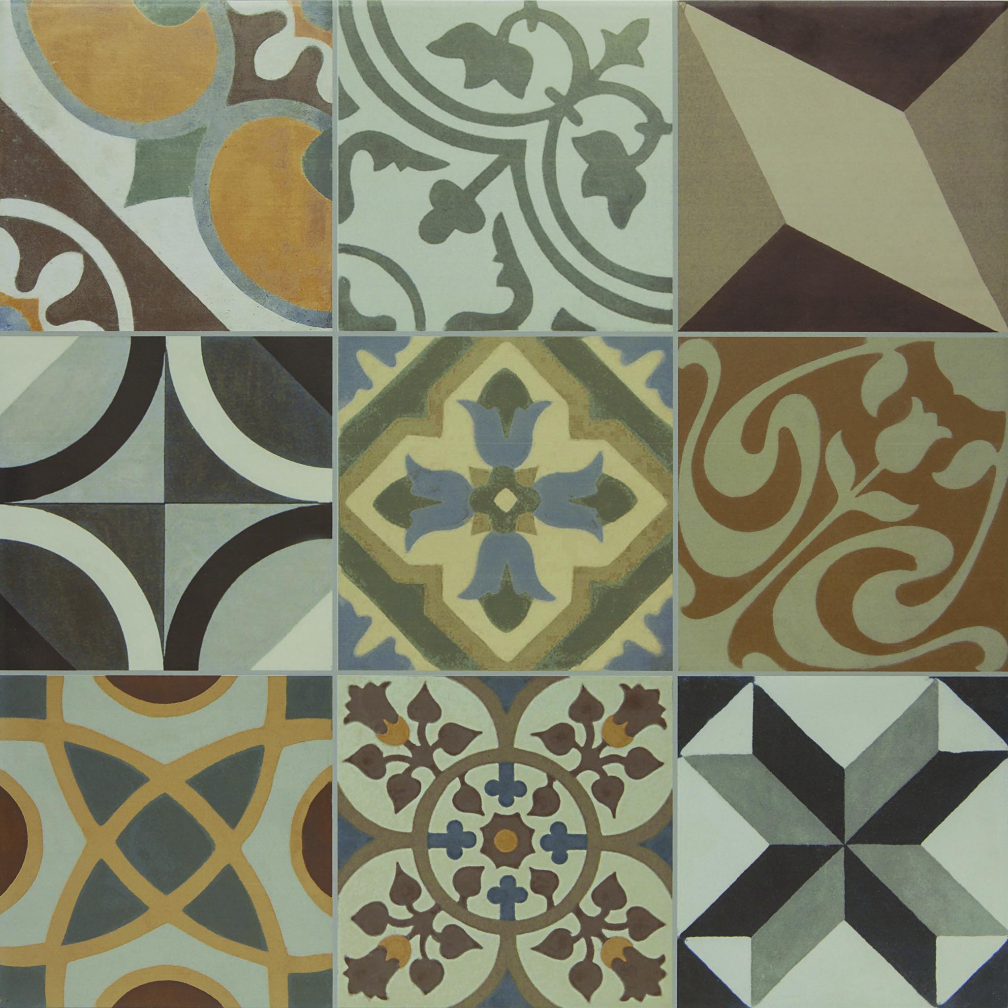 "ESSENCE DECOR - 24""x24"" Porcelain Floor & Wall Tile"