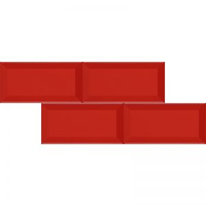 2 METRO Red 4x8 ceramic wall tile QDI Surfaces product image 800x800 1