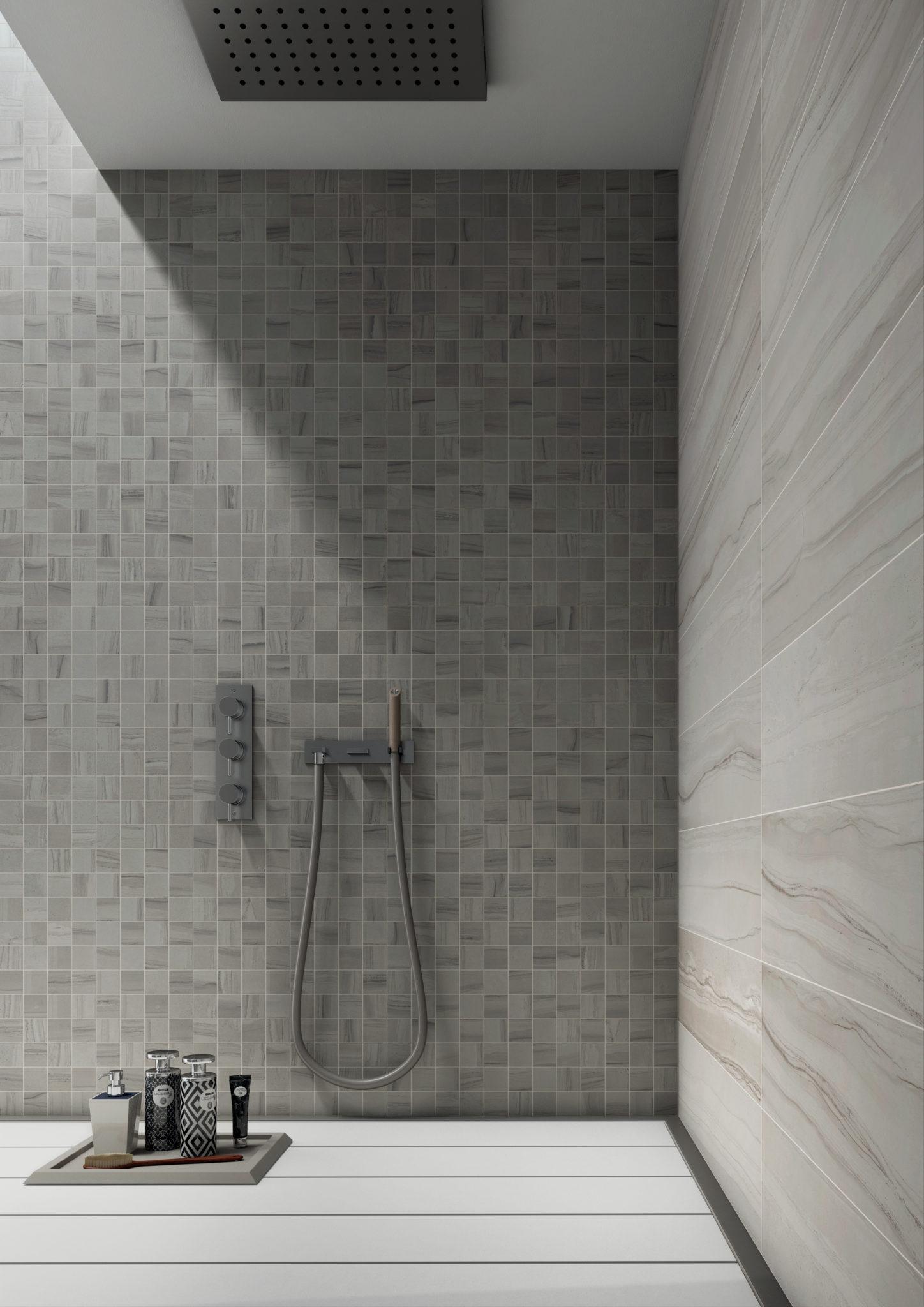 "Bagno 2 X 2 travel - polar white 2""x2"" porcelain mosaic tile | qdi surfaces"