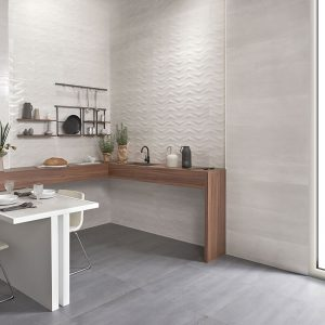 1 ELVEN Blanco 12x36 ceramic wall tile QDI Surfaces product room scene 800x800 1