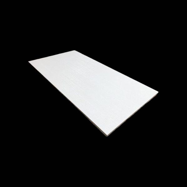 ESSENTIAL Pebble White 12x24 Ceramic Wall Tile QDI Surfaces Angle