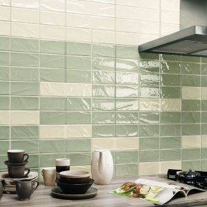 1 MANHATTAN 2nd Ave 3x6 ceramic wall tile QDI Surfaces product room scene 800x800 1