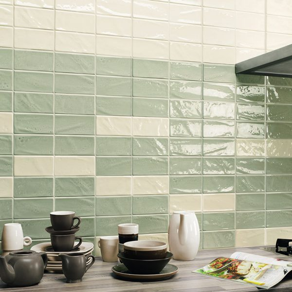 1 MANHATTAN 5th Ave 3x6 ceramic wall tile QDI Surfaces product room scene 800x800 1