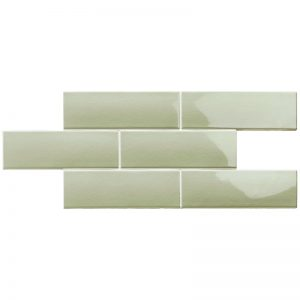 2 LONDON Sage 3x8.7 ceramic wall tile QDI Surfaces product image 800x800 1