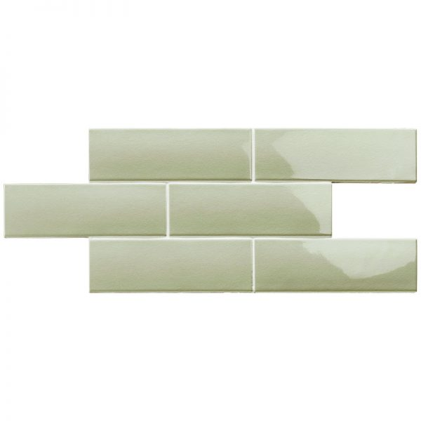 2 LONDON Sage 3x8.7 ceramic wall tile QDI Surfaces product image 800x800 1