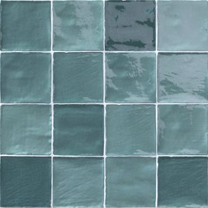 2 STOW Mix Turchese 4x4 ceramic wall tile QDI Surfaces product image 800x800 1