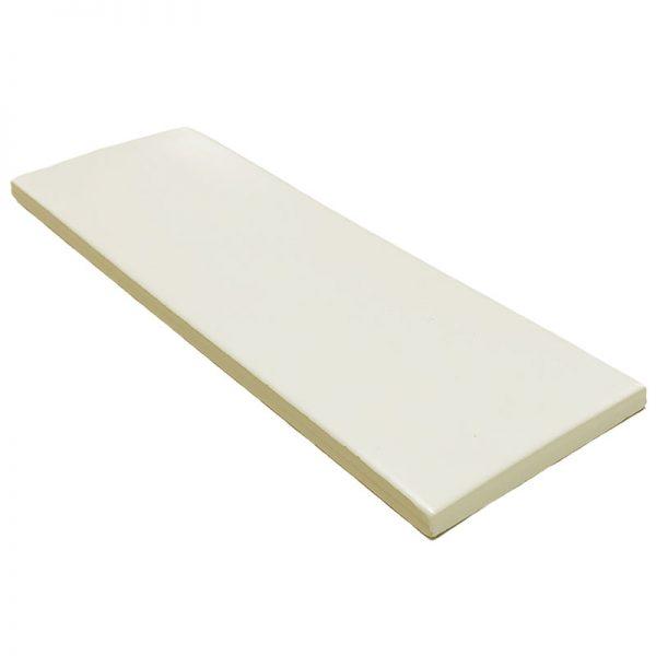 4 LONDON White 3x8.7 ceramic wall tile QDI Surfaces product angle 800x800 1