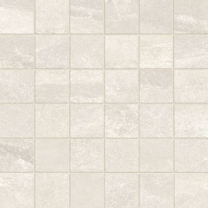 Chalk Porcelain Mosaic Tile Board Collection 2x2 Indoor Entryway Gray Beige Cream QDI Surfaces