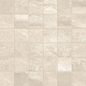 Paper Porcelain Mosaic Tile Board Collection 2x2 Indoor Beige Cream QDI Surfaces