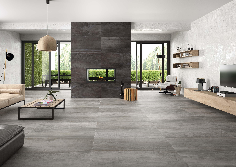 Acier White 24 Quot X48 Quot Porcelain Floor Amp Wall Tile Qdi Surfaces
