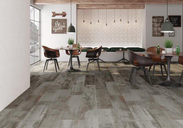 Atrium Tasmania Cold 10x40 Glazed Porcelain Floor Wall Tile White Gray Brown Tan QDI Surfaces