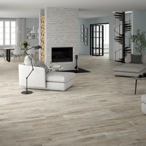 Shireen Grey 10x40 Glazed Rectified Porcelain Floor Wall Tile Gray Beige Cream QDI Surfaces