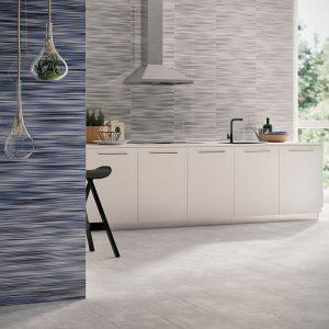 1 VALDIVIA Gris 12x24 ceramic wall tile QDI Surfaces product room scene 800x800 1