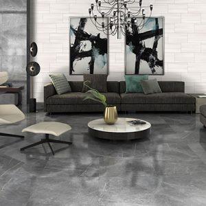 1 VALDIVIA Natural Brillo 12x24 ceramic wall tile QDI Surfaces product room scene 800x800 1