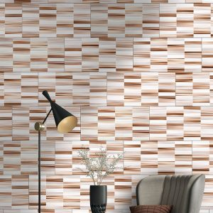 1 VALDIVIA Warm Mosaic 12x24 ceramic wall tile QDI Surfaces product room scene 800x800 1