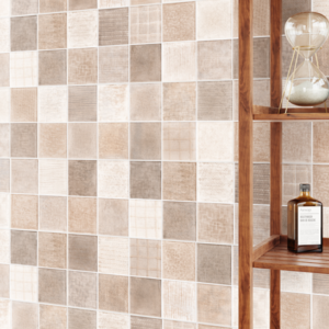 Trapani Art Vision 10x28 white bodied ceramic tile interior beige cream brown tan qdi surfaces