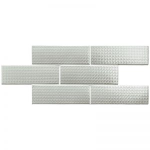 2 LONDON City Picadilly Cement Deco 3x8.7 ceramic wall tile QDI Surfaces product image 800x800 1