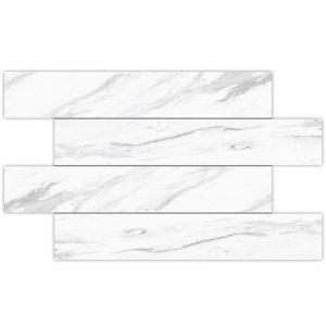2 ALBION White 4x24 porcelain wall tile QDI Surfaces product image 800x800 1