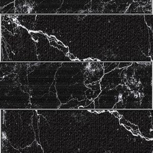 3 ALBION Black 4x24 porcelain wall tile QDI Surfaces product close up 800x800 1