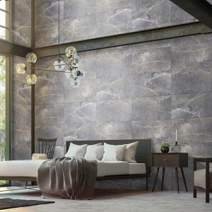 1 ALANYA Antracite 24x48 porcelain floor wall tile QDI Surfaces product room scene 800x800 1