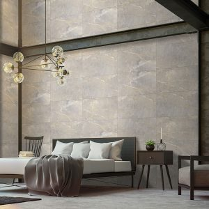 1 ALANYA Grey 24x48 porcelain floor wall tile QDI Surfaces product room scene 800x800 1