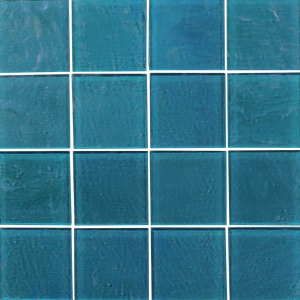 Piazza 3x3 Turquoise