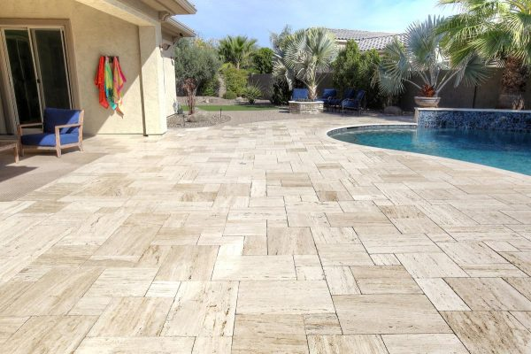Wooden Pavers 8