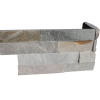 Ledgerstone Split Face Beachwalk Quartzite corner 2