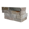 Ledgerstone Split Face Beachwalk Quartzite corner 3