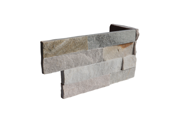 Ledgerstone Split Face Beachwalk Quartzite corner