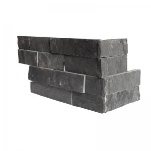 Ledgerstone Split Face Black Fantasy Slate corner 3