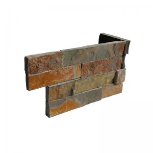 Ledgerstone Split Face Sierra Slate corner 3